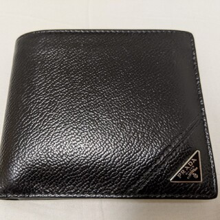 プラダ(PRADA)のPRADA プラダ 財布 メンズ 二つ折り 折財布(折り財布)