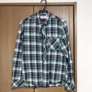 イッカ(ikka)のIKKA チェックシャツ メンズMサイズ(シャツ)