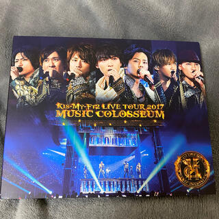 キスマイフットツー(Kis-My-Ft2)のKis-My-Ft2 ミュージックコロシアム Blu-ray(アイドルグッズ)