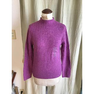 ユニクロ(UNIQLO)の新品未使用 ユニクロ モックネックセーター(ニット/セーター)