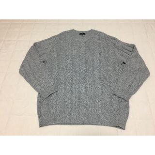 ニジュウサンク(23区)のM369新品♪23区 HOMME毛カシミヤセーター2L¥24200大きいサイズ(ニット/セーター)