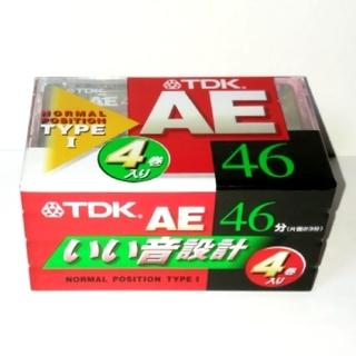 TDK - TDK カセットテープ 4巻セット(46分)