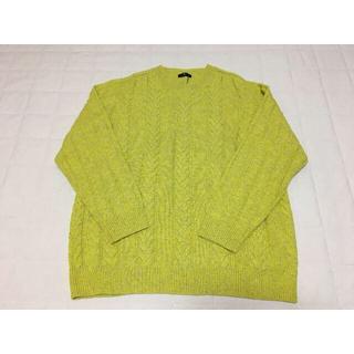ニジュウサンク(23区)のM371新品♪23区 HOMME毛カシミヤセーター4L¥24200大きいサイズ(ニット/セーター)