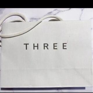 スリー(THREE)のTHREE ショップ袋/ショッパー(ショップ袋)