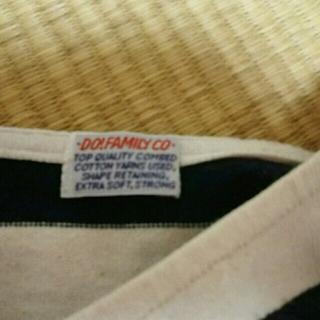 ドゥファミリー(DO!FAMILY)のTシャツ太ボーダーのみ。専用ページ(Tシャツ(半袖/袖なし))