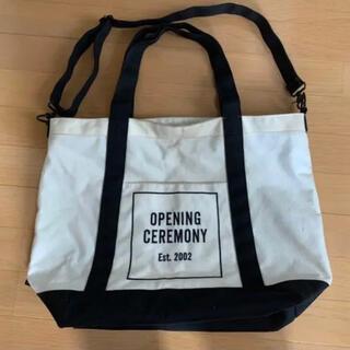 オープニングセレモニー(OPENING CEREMONY)のopening ceremony トートバッグ(トートバッグ)