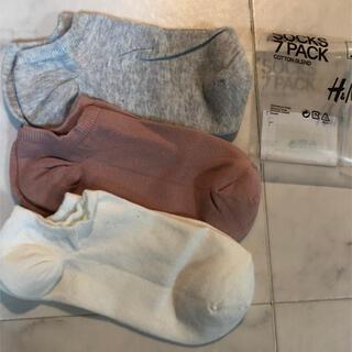 エイチアンドエム(H&M)の新品 H&M くるぶしソックス(ソックス)