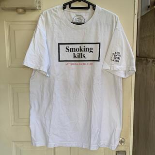 ANTI - ANTI SOCIAL SOCIAL CLUB×FR2 Tシャツ 白L ASSC