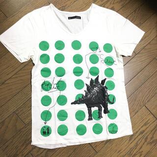 ジョンブル(JOHNBULL)の美品 Johnbull 刺繍 プリントカットソー ジョンブル(Tシャツ/カットソー(半袖/袖なし))