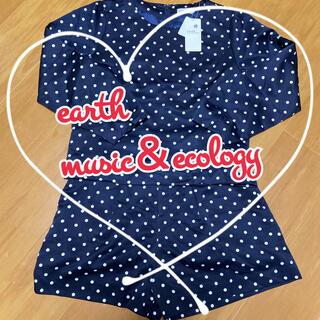 アースミュージックアンドエコロジー(earth music & ecology)の【セットアップ】グログランドットセットアップ(セット/コーデ)