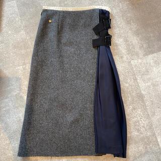 ミュベールワーク(MUVEIL WORK)のMUVEIL BEAMS購入、膝下スカート(ロングスカート)