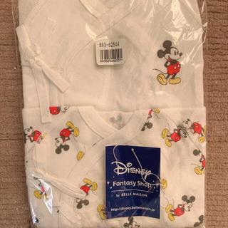 Disney - ミッキー 肌着2枚入り