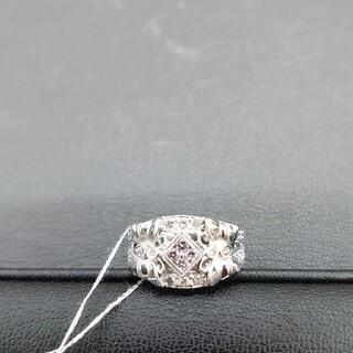 ラスト貴重天然ピンクダイヤモンドリング(リング(指輪))