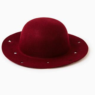 ザラキッズ(ZARA KIDS)の新品 ZARA ザラ フェルト帽子 52cm(帽子)