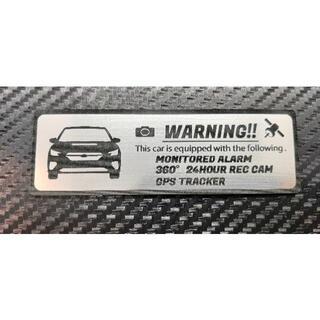 スバル(スバル)の最新 レヴォーグ 盗難防止 防犯 セキュリティ エンブレム 大 ステッカー(車外アクセサリ)
