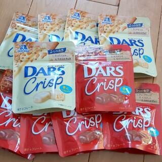 森永製菓 - 森永製菓 ダースクリスプミルク/白いダースクリスプ 10袋