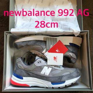 ニューバランス(New Balance)のnewbalance M992 AG 28.0cm(スニーカー)