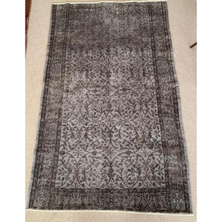 イデー(IDEE)の【期間限定出品】ヴィンテージ加工ラグ トルコ絨毯 115×192(ラグ)