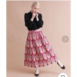 プープレ(peu pres)のポップコーンJQスカート(ロングスカート)