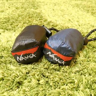 ナンガ(NANGA)のNANGA エコバッグ ブラック&ネイビー(エコバッグ)