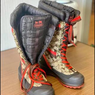 コーチ(COACH)のCOACH marian winter boots(ウィメンズブーツ)(ブーツ)
