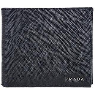 プラダ(PRADA)の【中古】PRADA プラダ 2つ折り財布(折り財布)