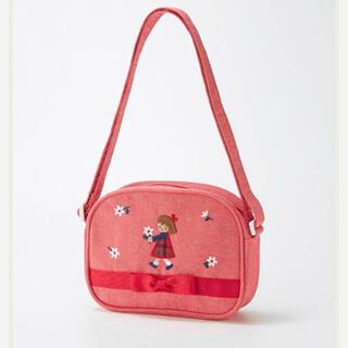ファミリア(familiar)の美品 ファミリア  Familiar 女の子 ポシェット 鞄 バッグ ポーチ(ポシェット)