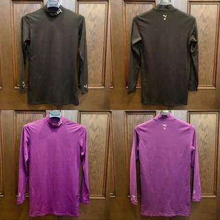 プーマ(PUMA)のPUMA プーマ モックネック 長袖 シャツ 2枚セット(カットソー(長袖/七分))