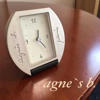 アニエスベー(agnes b.)のアニエスベー 置き時計(携帯時計)(置時計)