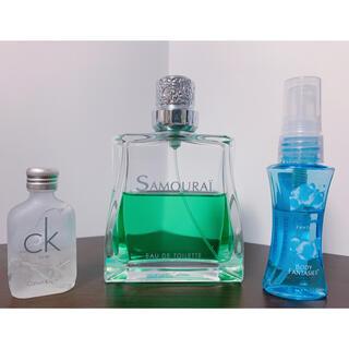 サムライ(SAMOURAI)のフランス製 香水 SAMOURAÏ / CKONE カルバンクライン +おまけ(ユニセックス)