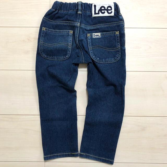 Lee(リー)のLee リー 定番やわらかデニム ジーパン 100cm  キッズ/ベビー/マタニティのキッズ服男の子用(90cm~)(パンツ/スパッツ)の商品写真