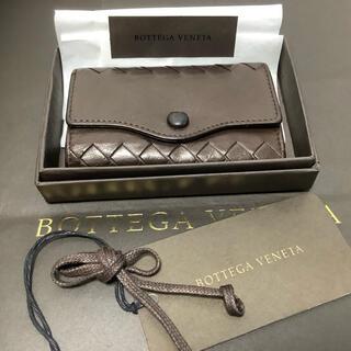 ボッテガヴェネタ(Bottega Veneta)のボッテガ・べネタ ゴールド 5連 キーケース ブラウン系(キーケース)