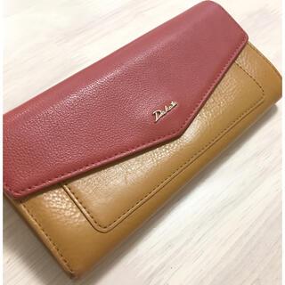 ダコタ(Dakota)のDakota バイカラー 長財布 がま口 メリーシリーズ(財布)