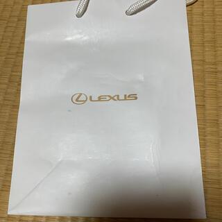 トヨタ(トヨタ)のレクサス ショップ袋 送料無料(ショップ袋)