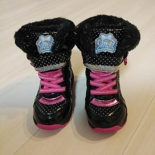 ムーンスター(MOONSTAR )のムーンスター スノーブーツ  16センチ 女の子 防水 雪 ブーツ スパイク(ブーツ)