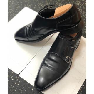 リーガル(REGAL)のビジネスシューズ 革靴 ダブルモンク ブラック マッケイ製法(ドレス/ビジネス)
