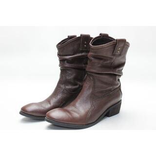 サヴァサヴァ(cavacava)のcavacava 本革ショートブーツ(23cm)(ブーツ)
