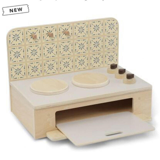 キャラメルベビー&チャイルド(Caramel baby&child )の【Konges sloejd】Wooden table kitchen(知育玩具)