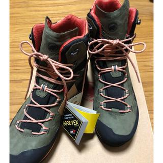 マムート(Mammut)の再@@様 新品未使用 マムート 登山靴 ケントガイドハイカット (登山用品)