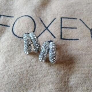 フォクシー(FOXEY)のFOXEY ビジューピアス パヴェ(ピアス)