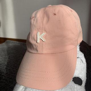 韓国 キャップ 帽子(キャップ)