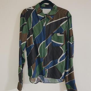 カラー(kolor)のkolor ジップアップシャツ size4(シャツ)