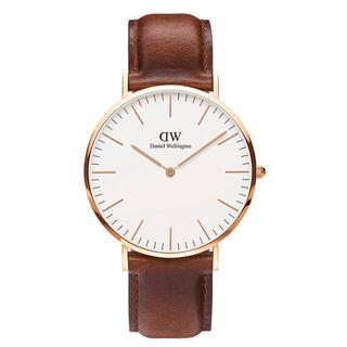 ダニエルウェリントン(Daniel Wellington)の【40㎜】ダニエル ウェリントン腕時計DW00100106《3年保証書付》(腕時計(アナログ))
