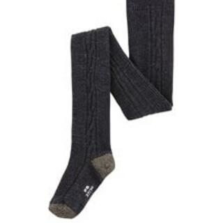 プチバトー(PETIT BATEAU)の未使用プチバトー アラン編み タイツ EU31~34(18~21cm)8~10A(靴下/タイツ)