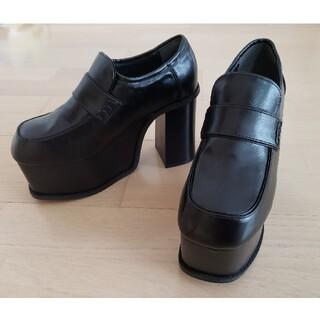 エモダ(EMODA)の新品 今期新作 EMODA  アップトゥバルキーローファー(ローファー/革靴)