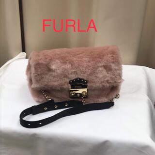 フルラ(Furla)の❤︎美品❤︎ FURLA フルラ メトロポリス ファーショルダーバッグ(ショルダーバッグ)