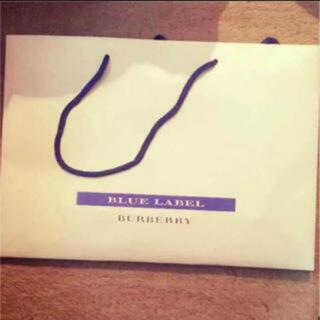 バーバリーブルーレーベル(BURBERRY BLUE LABEL)のバーバリー 紙袋(ショップ袋)