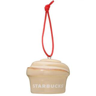 スターバックスコーヒー(Starbucks Coffee)の★限定品★スターバックスホリデー2020 クリスマスオーナメント シナモンロール(その他)