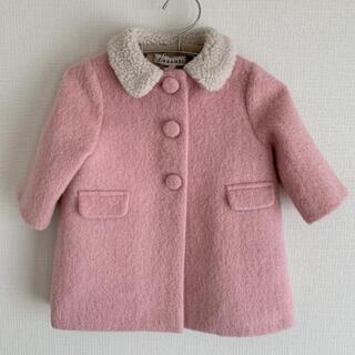 キャラメルベビー&チャイルド(Caramel baby&child )のcaramel 12m ピンク コート(ジャケット/コート)