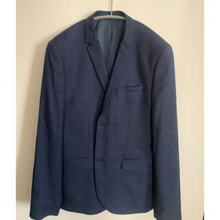 エイチアンドエム(H&M)のH&M ジャケット ネイビー サイズ50(テーラードジャケット)